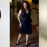 Идеальное платье поможет полной скромнице превратиться в шикарную даму