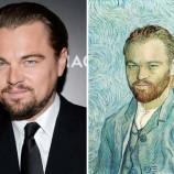 Портрет Леонардо Ди Каприо работы Ван Гога