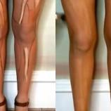 Спорт не нужен: как сделать идеальные ноги с помощью контуринга