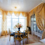 Украшение интерьера: шторы и ламбрекены