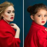 Трогательный  фотопроект трехлетней девочки, который помог справиться с раком