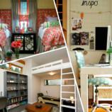 10 идей  стильной спальни для  маленькой квартиры