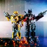 Шоу гигантских роботов трансформеров на праздник