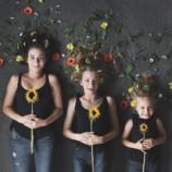Мама двух дочерей проводит необычный фотоэксперимент