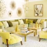 Солнце в доме: оформляем интерьер в желтых тонах