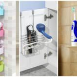 10 идей для маленькой ванной, которые помогут разложить все по полочкам