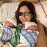 Беременная женщина пожертвовала глазом, чтобы спасти своих близнецов