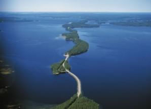 Финляндия — страна тысячи озёр